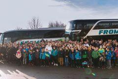 1. Handballbundesliga - Besuch in der Porsche-Arena Stuttgart