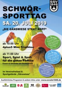 SSV Schwörsporttag @ Bad des SSV Ulm 1846