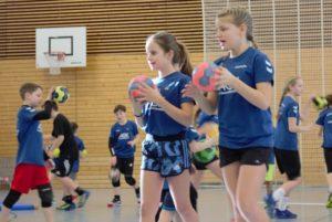 Handballcamp der Kinder