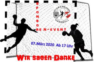 Sponsorentag der SG Ulm & Wiblingen @ Tannenplatzhalle Wiblingen